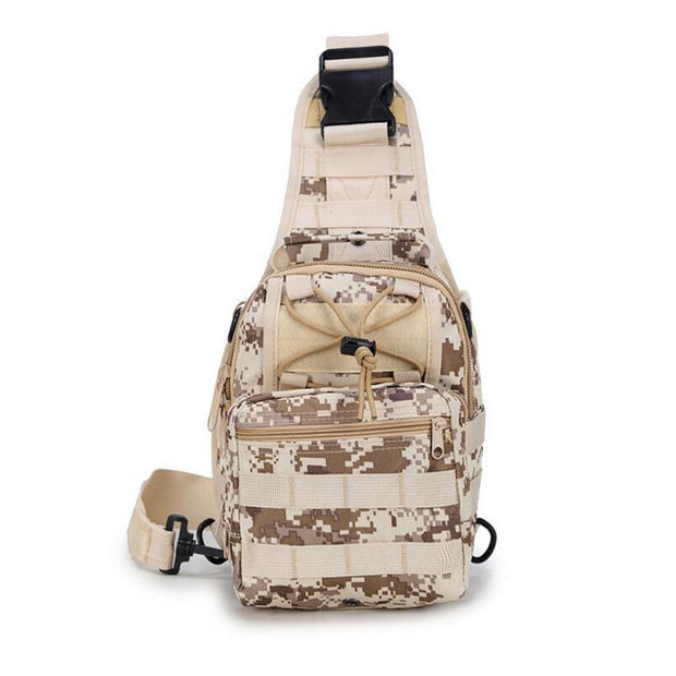 Men's Waterproof Camouflage Outdoor Sports Crossbody Bag