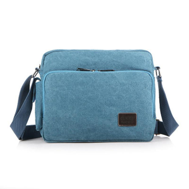Men's Canvas Versatile Wear-resistant Shoulder bag