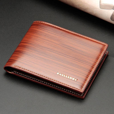 Men's Short Bifold Card Holder Wallet
