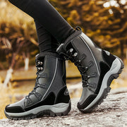 Damen Winter neu plus Samt warme Outdoor wasserdichte Anti-Rutsch-Stiefel kalte Schuhe