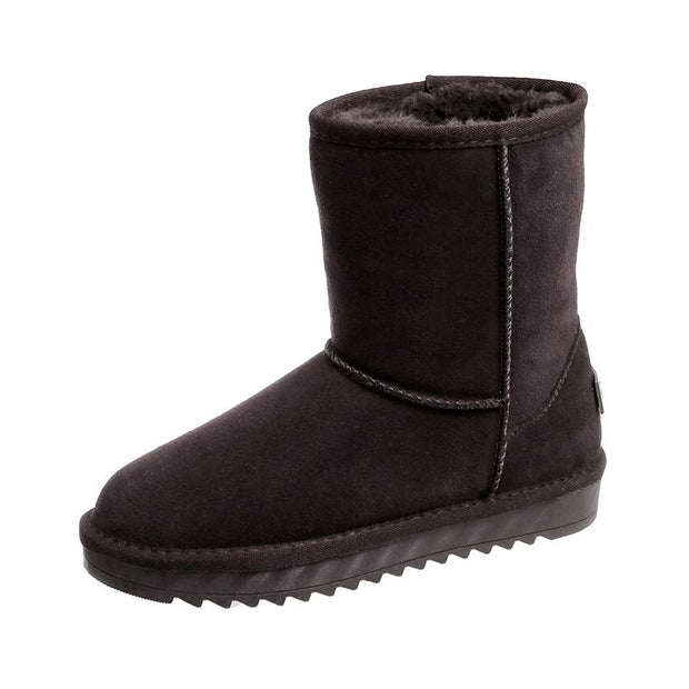 139344  Damen Classic Winter Waterproof Snow Kurze Stiefel