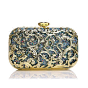 138895 Damen Metall Bankett Clutch