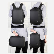 Herren Rucksack Business Travel wasserdicht Nylon Multifunktions-USB-Computer-Rucksack