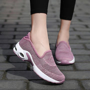 Mesh gepolsterte Slip On Casual Walking Outdoor-Schuhe
