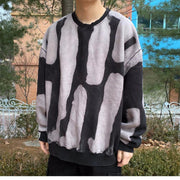 Men's Stylish Tie-Dye Sweatshirt