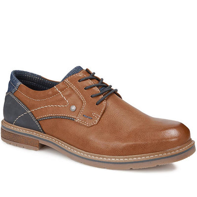 Männer Casual Lace-Up Derby