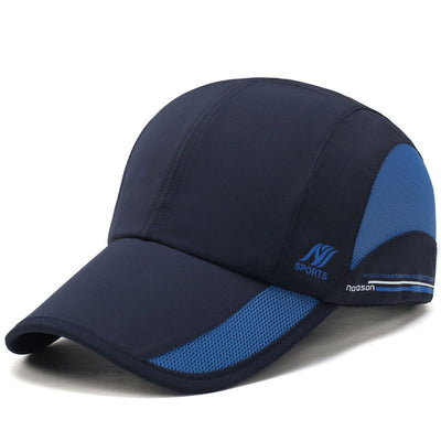 Herren Damen Outdoor Sports wasserdichte Quick-dry Hut Lässige Visiere Breath Baseball Caps
