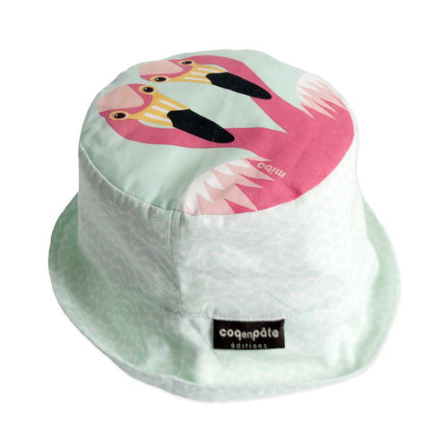 Sun Hat - Flamingo NEW