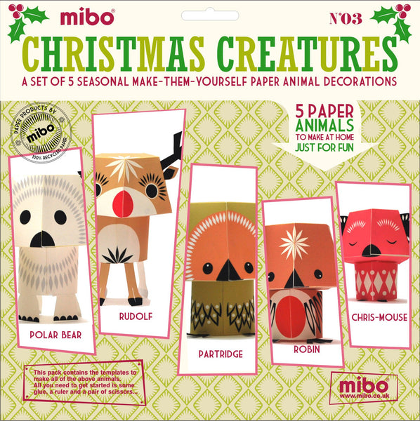 Paper Animals - Christmas Creatures