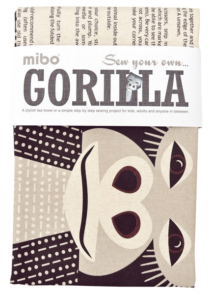 Tea towel - Gorilla