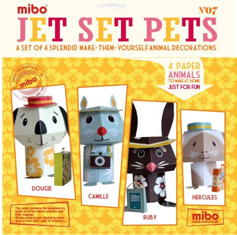 Paper Animals - Jet Set Pets