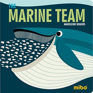 The Marine Team Board Book - New!
