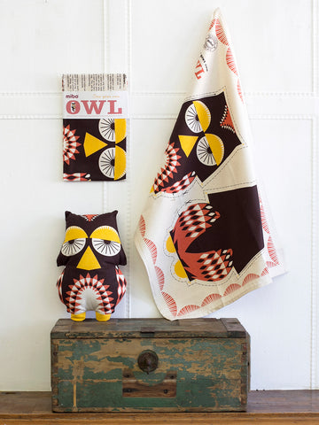 Tea Towel - Owl