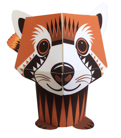 Paper Red Panda - Download