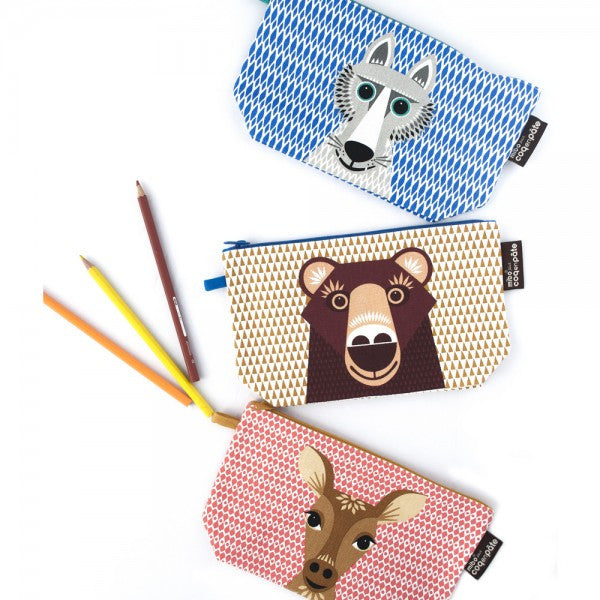 Pencil case -  Wolf