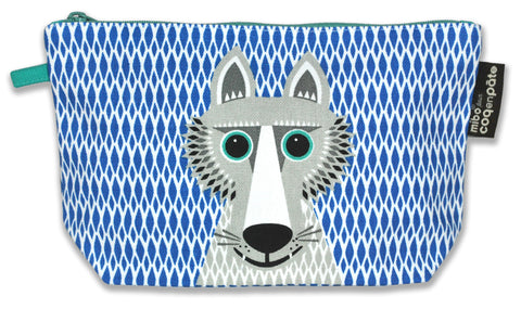 Pencil case -  Wolf NEW