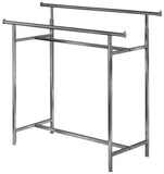 "K25 2 ARM GARMENT RACK WATERFALL ARMS 18"" 8 BALL"