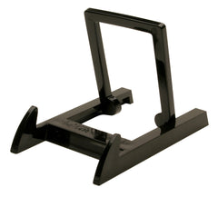 "CLEAR/BLACK MINI EASELS 3 1/4"" X 2"" Per Dz."