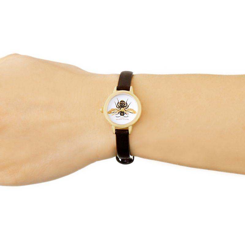 Olivia Burton OB16WL62 Woodland Bee Print Watch
