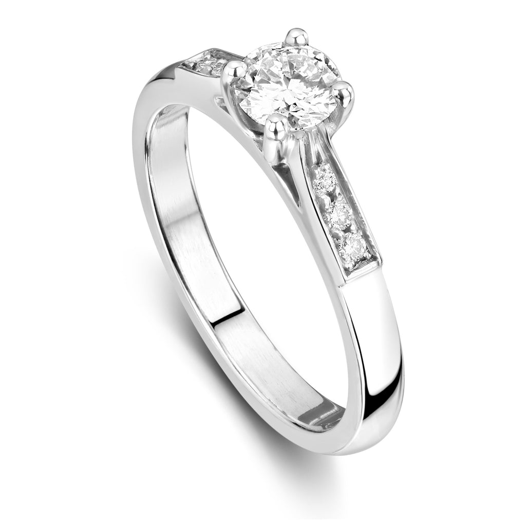 Beatrice Engagement ring with 0.45cts