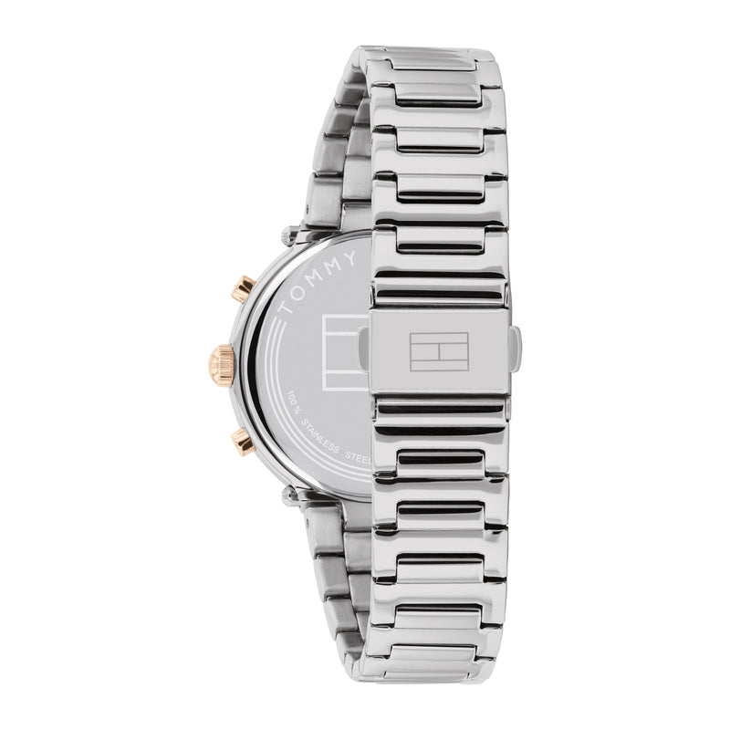 Tommy Hilfiger 1782348 Emery Silver/Gold Women's Watch