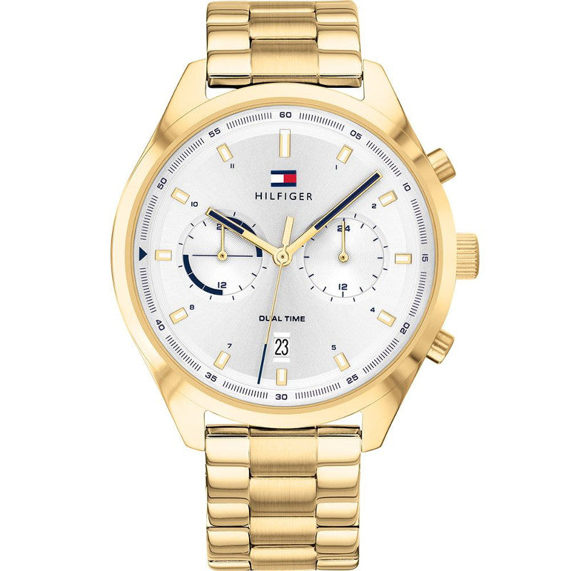 Tommy Hilfiger 1791726 Bennett Gold Plated Stainless Steel Strap Watch