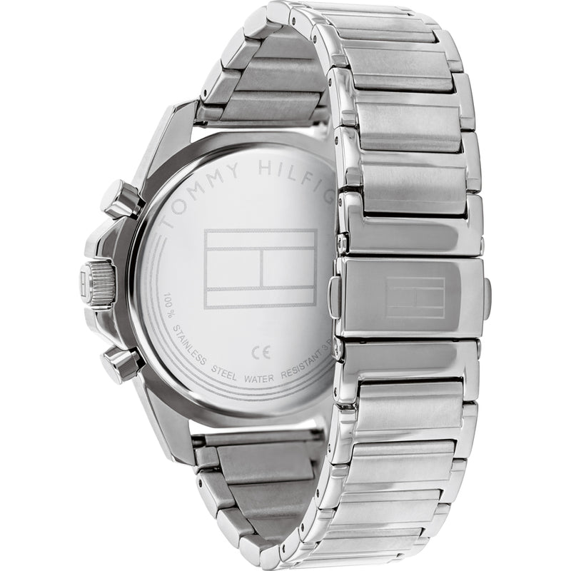 Tommy Hilfiger 1791788 Mason Silver/Blue Men's Watch