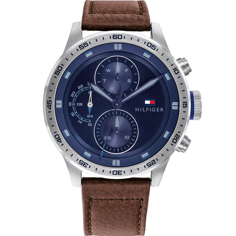 Tommy Hilfiger 1791807 Trent Brown/Blue Men's Watch