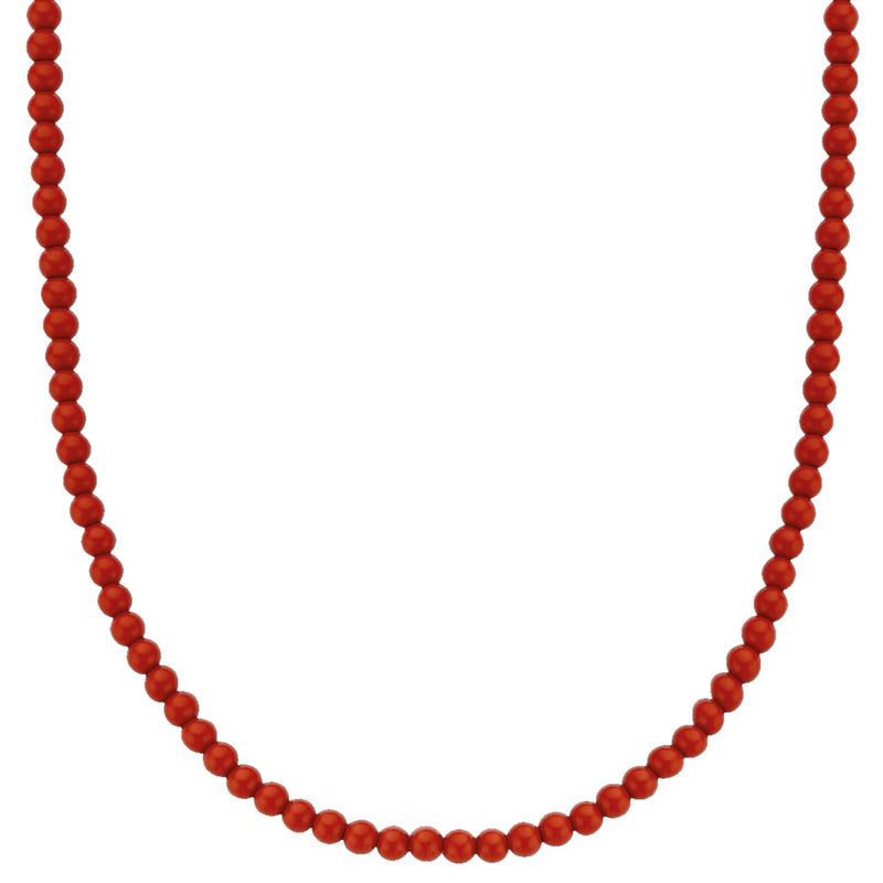 Ti Sento 3916cr/42 Milano Coral Red Stones Necklace