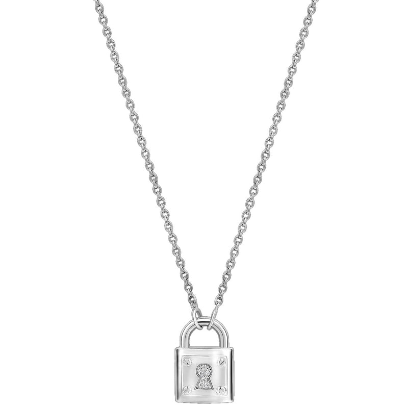Ti Sento 3936zi/42 Milano Love Padlock Necklace