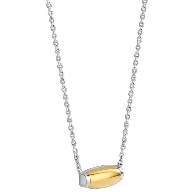 Ti Sento 3943zy/42 Milano 18k Rose-Gold Plated Necklace