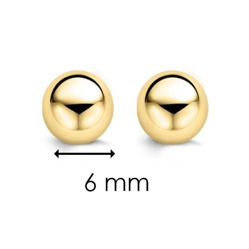 Ti Sento 7582sy Milano Silver Yellow Gold Plated Earrings
