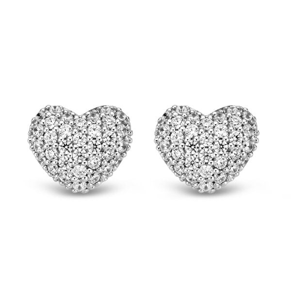 Ti Sento 7767zi Milano Silver Rhodium Plated Earrings