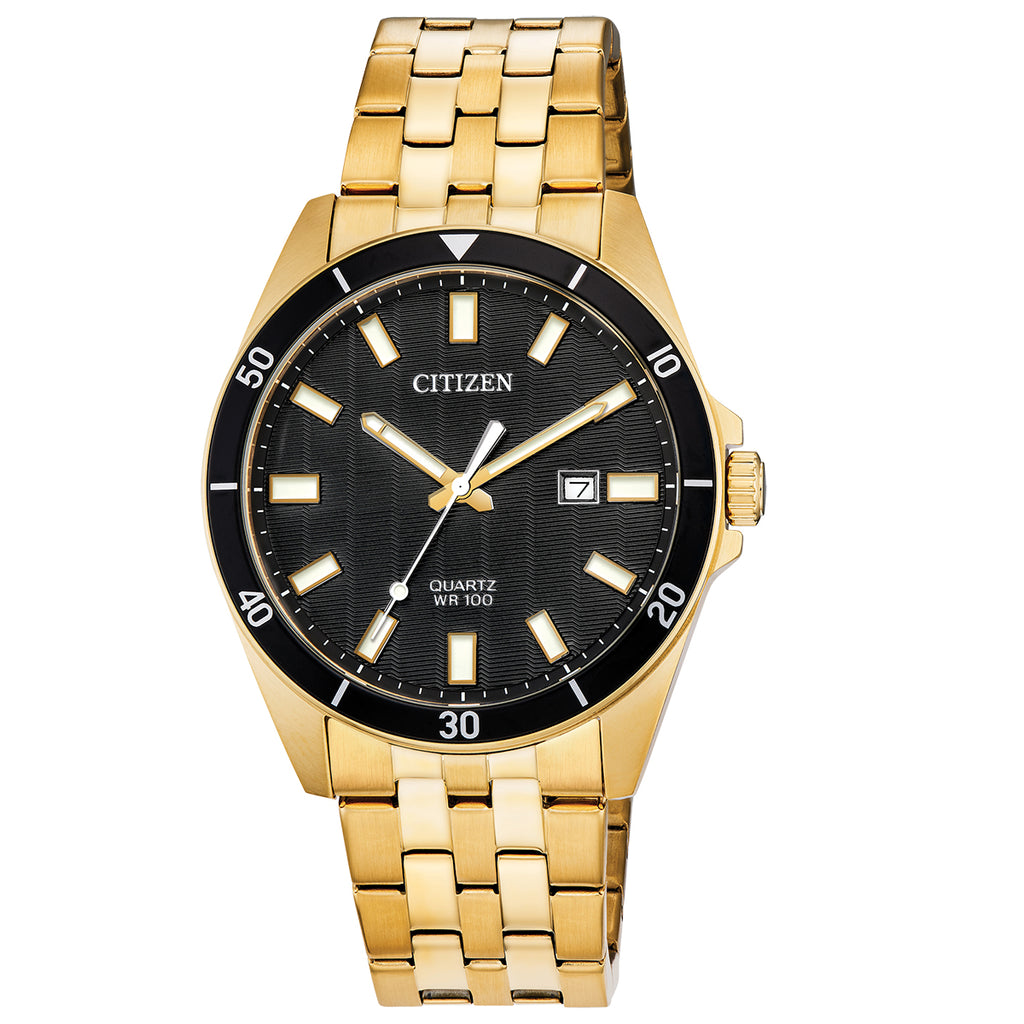 Citizen BI5052-59E Men's Gold Stainless Steel Bracelet Watch
