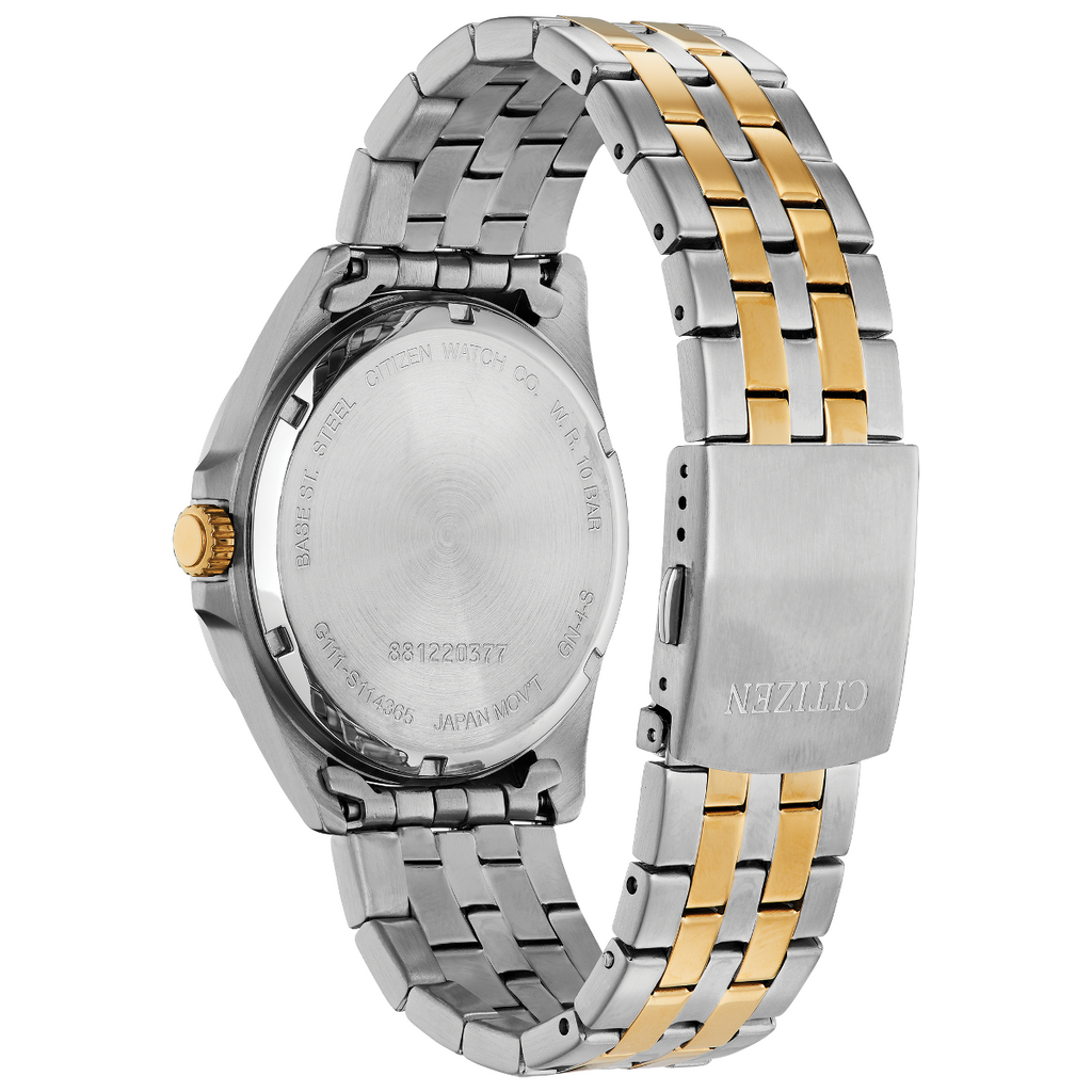 Citizen BI5054-53L Men's Gold and Stainless Steel Watch