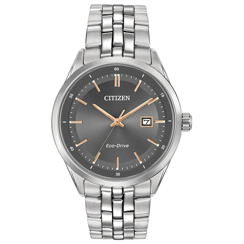 Citizen BM7251-53H Corso Silver-Tone Stainless Steel Bracelet Watch