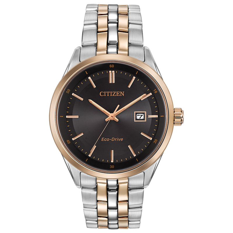 Citizen BM7256-50E Men's Two Tone Stainless Steel Bracelet Watch