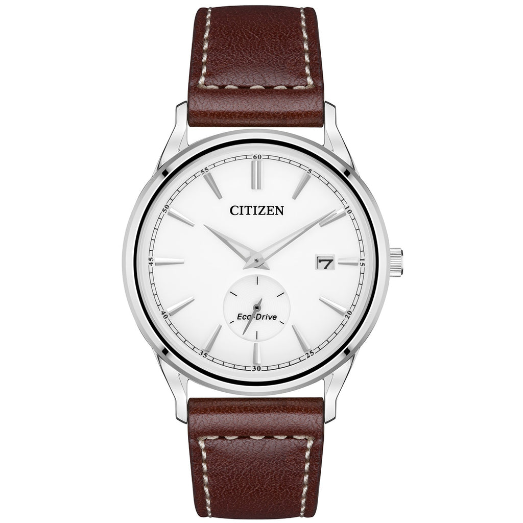 Citizen BV1119-14A Men's Brown Leather Strap with Buckle Watch