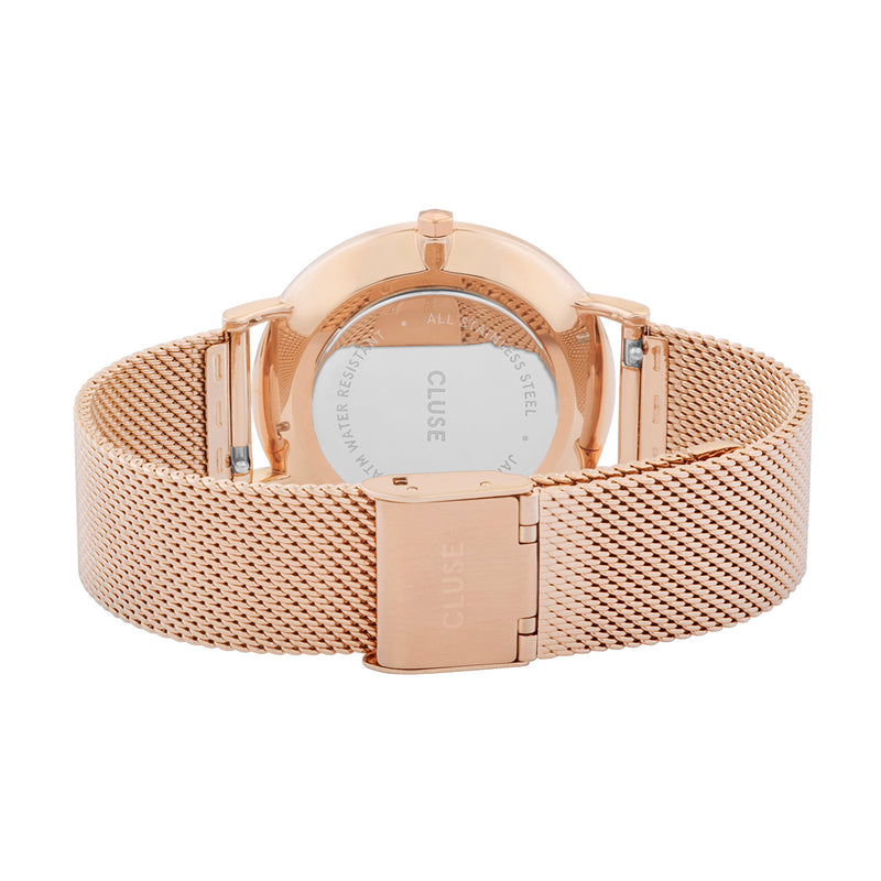 Cluse CW0101201001 La Bohème Mesh Rose Gold/ Rose Gold Watch