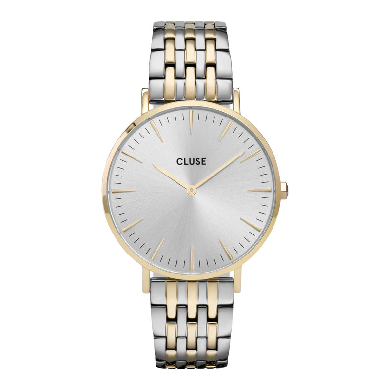 Cluse CW0101201025 La Bohème Chic Steel Gold Silver Colour Watch