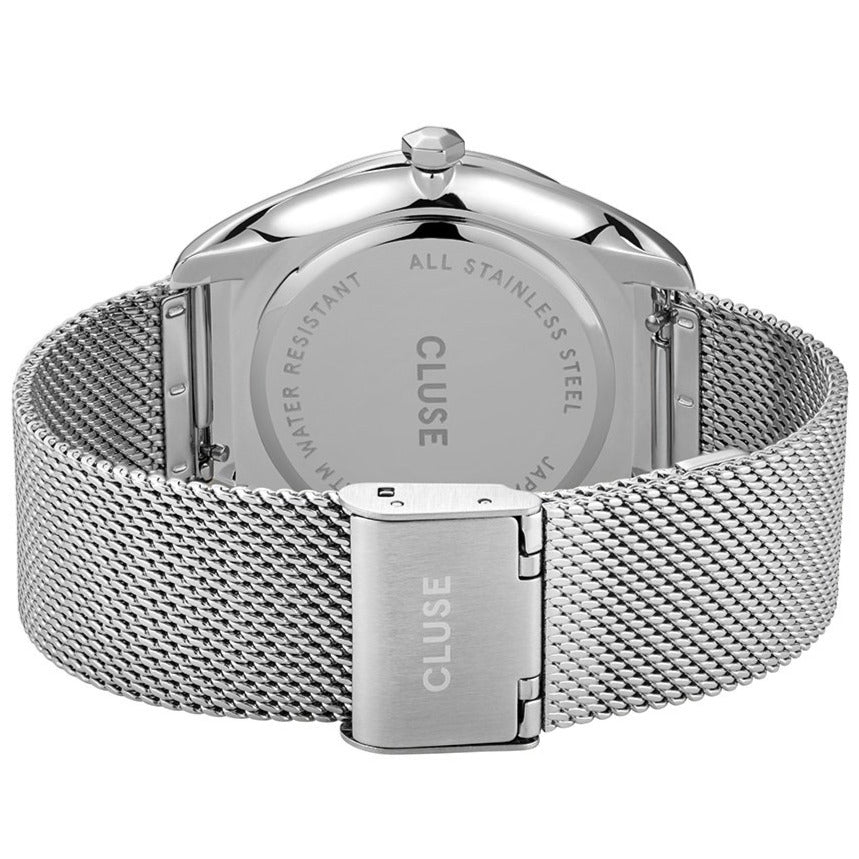Cluse CW0101212001 Féroce Mesh Silver White/Silver Watch