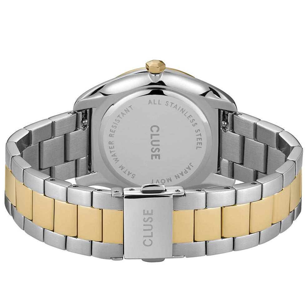 Cluse CW0101212004 Féroce 3-Link Silver Soft Gold/Silver/Gold Watch