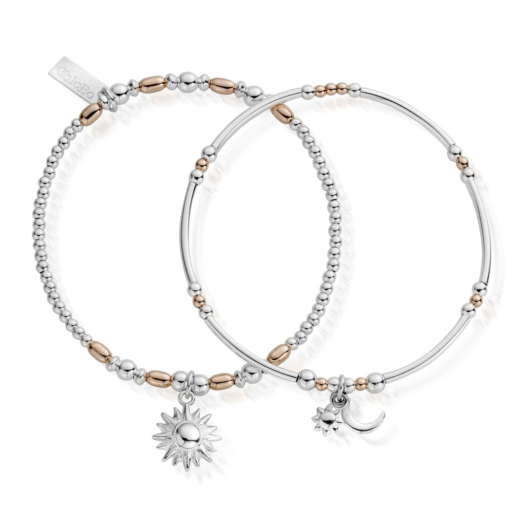Chlobo Dusk To Dawn Set of 2 - Rose Gold