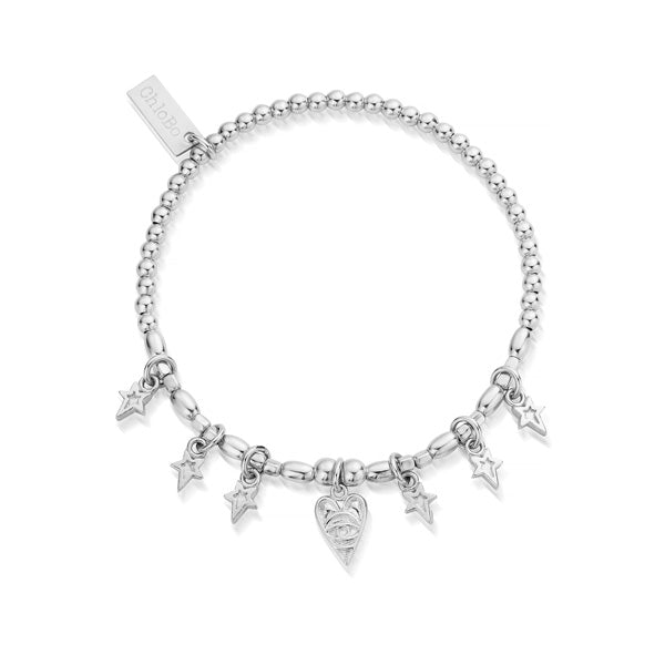 Chlobo Silver Seven Days of Luck Bracelet