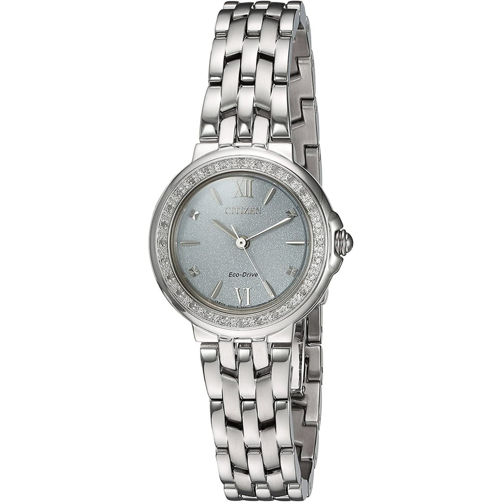 Citizen EM0440-57A Diamond White Dial Ladies Watch