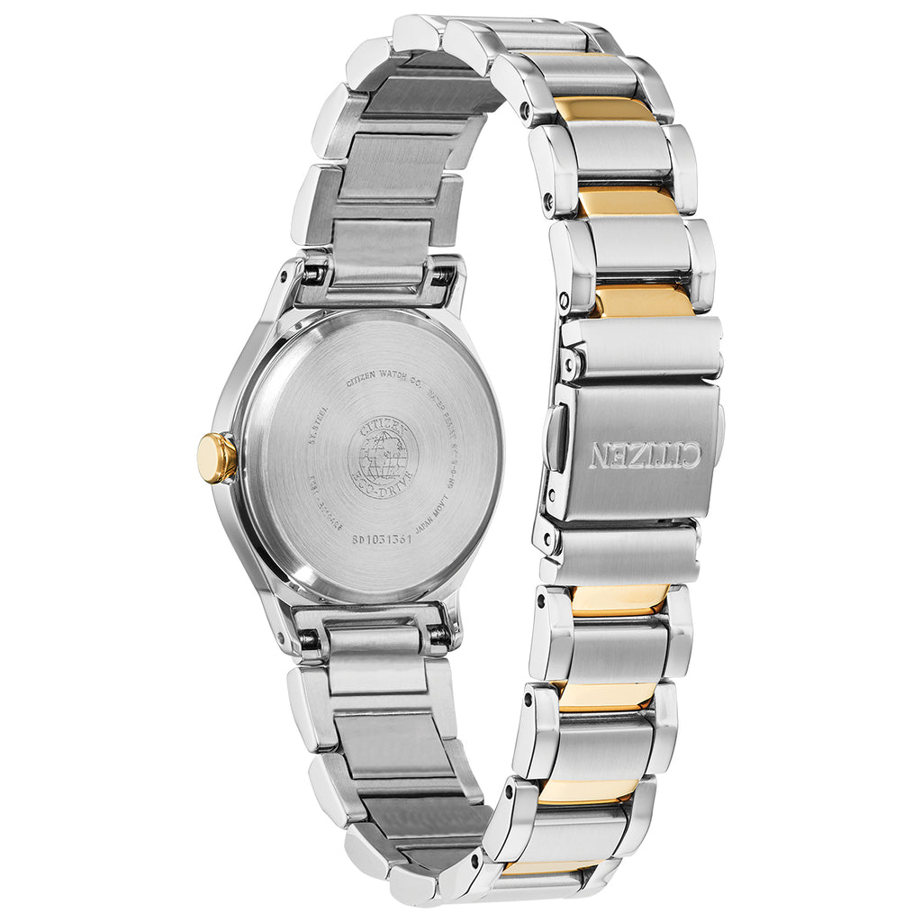 Citizen EM0734-56D Axiom Stainless Steel Fold Over Clasp Watch