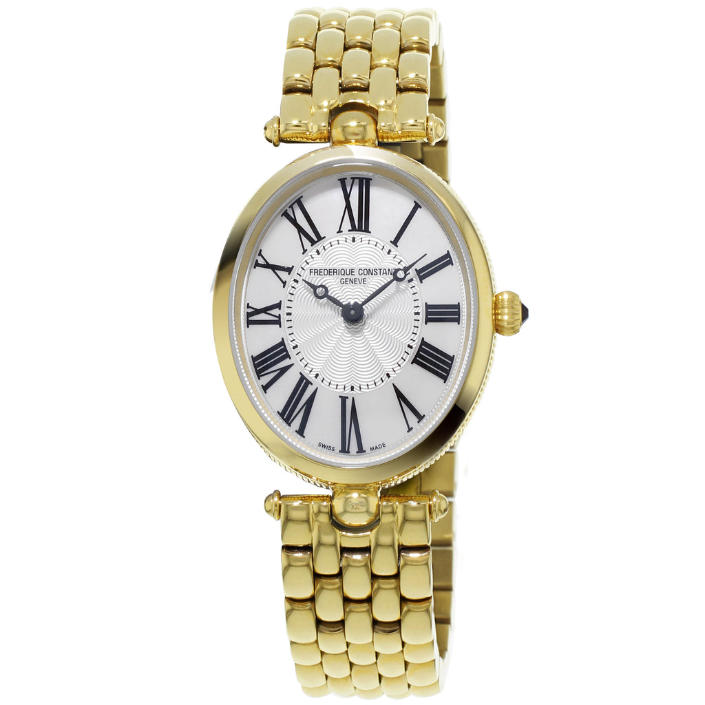 Frederique Constant FC-200MPW2V5B Classics Art Deco Oval Ladies Bracelet Watch