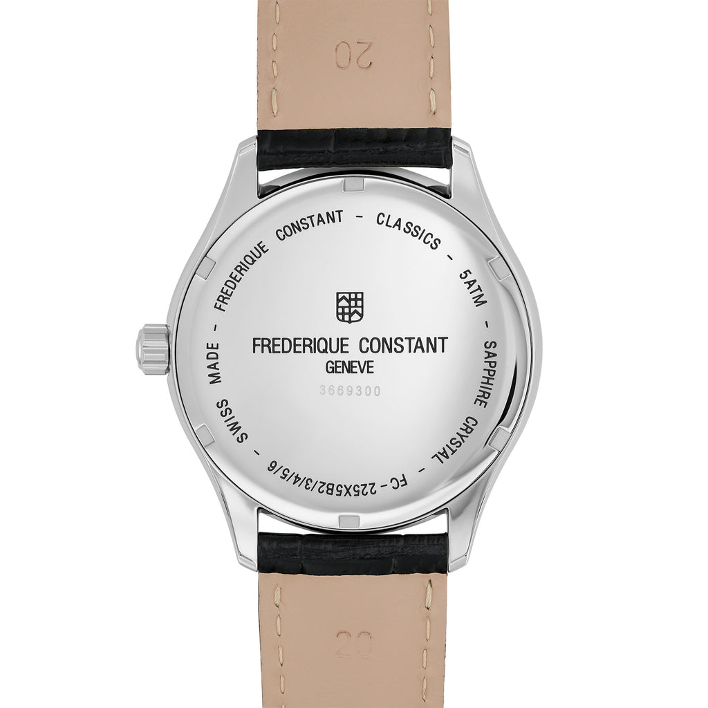 Frederique Constant FC-225ST5B6 Classics Day-Date Gents Bracelet Watch