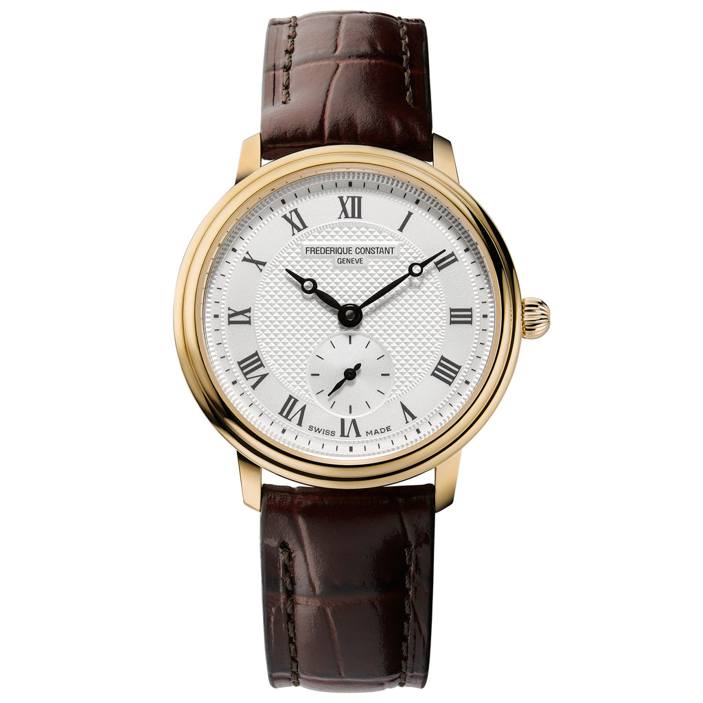 Frederique Constant FC-235M1S5 Small-Seconds Strap Leather Ladies Watch