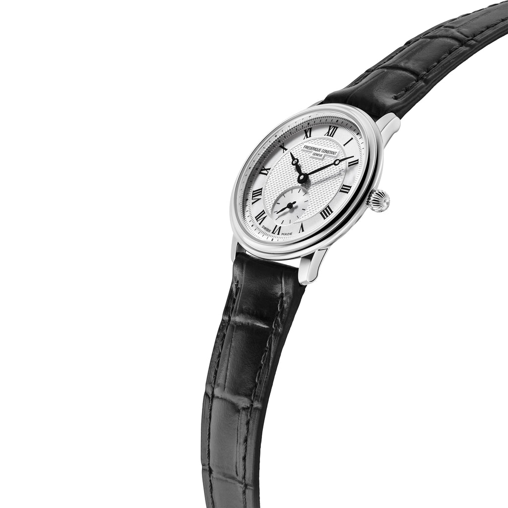 Frederique Constant FC-235M1S6 Small-Seconds Strap Leather Ladies Watch